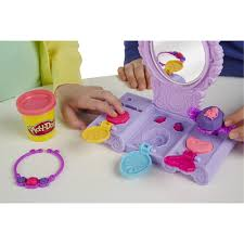childs vanity table play doh amulet and jewels vanity set sofia the first walmart com