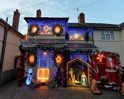 birmingham couple put up christmas lights two months early