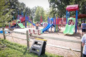 kids can face off at new hockey themed playground in ohio u0027s