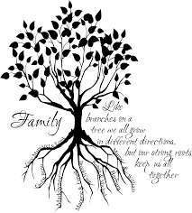 family tree root names wall decal family trees and