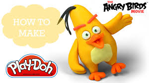 angry birds movie 2016 play doh making chuck cute