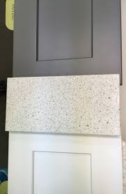 echelon white and slate shaker cabinets u0026 ceasarstone quartz
