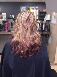 reverse ombre reverse sombre red hair color color melt