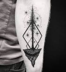 geometric tree tattoo by savaş doğan chulo pinterest tattoo