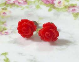 icings earrings flower earrings etsy