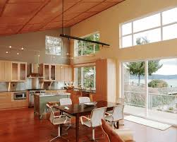 kitchen cabinets vaulted ceiling innovation wooden bookcase