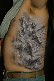 realistic snow owl tribal henna tattoos real photo pictures