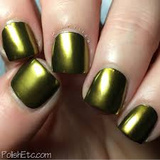 metallic nails for the 31dc2017weekly polish etc