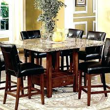 high end dining chairs high end dining room tables counter height