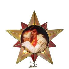 shop christmas central metal elvis presley star christmas tree