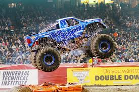 monster truck racing association blue thunder monster jam pinterest monster jam and monster