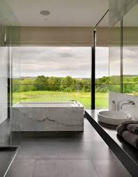 marble bathtub 50 bathrooms that know to make the most of great views