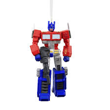 hallmark optimus prime ornament on sale at jcpenney
