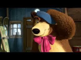 27 masha medved kartina maslom masha bear
