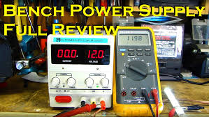 Variable Bench Power Supply With Lcd And Monitor Display Bench Power Supply Full Review Variable 0 30v U0026 0 10a Youtube
