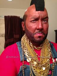 Halloween Party Costume Ideas Men Bad Mr T Halloween Costume Halloween Costume Contest