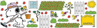 snoopy u0027s spring strawberry patch bulletin boards eureka