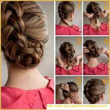 hair steila simpl is pakistan latest best quick and simple hair style pics tutorials hotblended