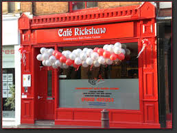 cuisine shop shop front grand opening picture of cafe rickshaw modern