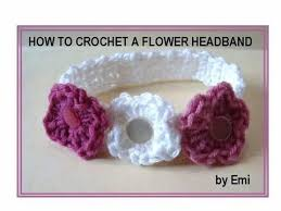 crochet flower headband how to crochet a flower headband any size