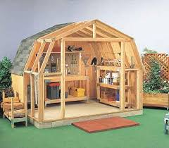 diy gambrel roof plans wood shed construction plans shed4plans