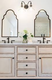 White Framed Mirror For Bathroom Rubbed Bronze Mirrors Bathroom Visionexchange Co