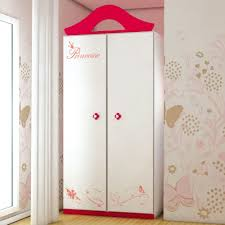 armoire chambre fille armoire princesse pour chambre fille design capella