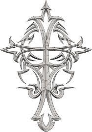free tribal cross tattoo designs cool tattoos bonbaden
