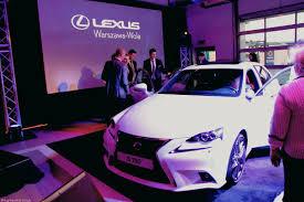 lexus za 20 tys przedpremierowe pokazy lexusa is