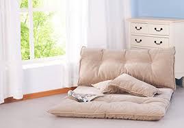 amazon com merax adjustable floor sofa bed lounge sofa bed floor