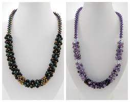 gemstone beaded necklace images 6mm round gemstones for kumihimo jpg