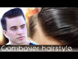 boys comb over hair style comb over men s hair classic hairstyle tutorial slikhaar tv