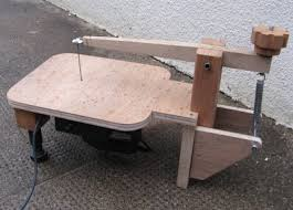 Table Jigsaw Home Made Scroll Saw
