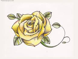 free designs yellow rose tattoo wallpaper picture 14684 tatts
