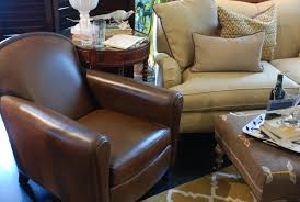 Leather And Tapestry Sofa Decorating With Leather Furniture 3 Tips You U0027ve Gotta Know Nell