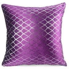fortable Purple Decorative Pillows