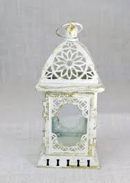 no l004 wedding lantern centerpiece vintage antique white u0026 gold