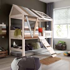 Midi Bunk Beds Lifetime Treehouse Midi Bed Jellybean Ireland