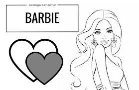 Coloriages gratuits à imprimer Barbie