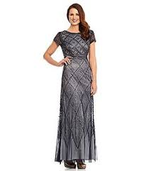 js collections lace and chiffon gown dillards in a different