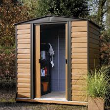 woodvale metal garden shed 10 x 6 wood effect 10 x 8 10 x 12