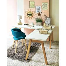 plan pour fabriquer un bureau en bois plan de bureau en bois bureau blanc dangle avec piactement en bois
