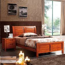 minimalist modern oak bedroom furniture single apartment hotel 15