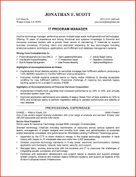 cover letter resume format for it manager resume format for it