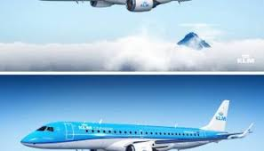 klm paints its first two boeing 737 800s in the revised livery