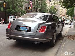 bentley mulsanne matte black bentley mulsanne 2009 20 august 2013 autogespot
