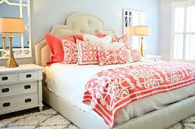 best coral bedding ideas best home decor inspirations