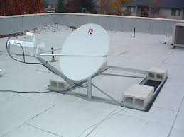 Dish Network Installers Satellite Dish On Flat Roof Popular Roof 2017