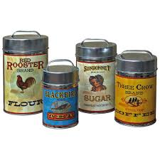 Coffee Themed Kitchen Canisters 100 Retro Kitchen Canister Sets Vintage Kitchen Canister