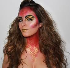 dragon let u0027s play with fire 31 days of halloween makeup hair and